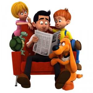 Boule et bill - série animée - Dargaud