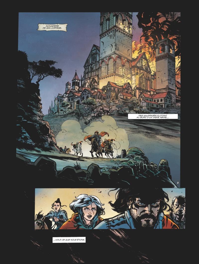 Horacio d'Alba #2, Le roi soldat, Jérôme le Gris, Nicolas Siner, Glénat
