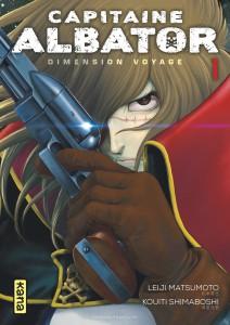 Capitaine Albator Dimension voyage #1 - Leiji Matsumoto - Kouti Shimaboshi - Kana