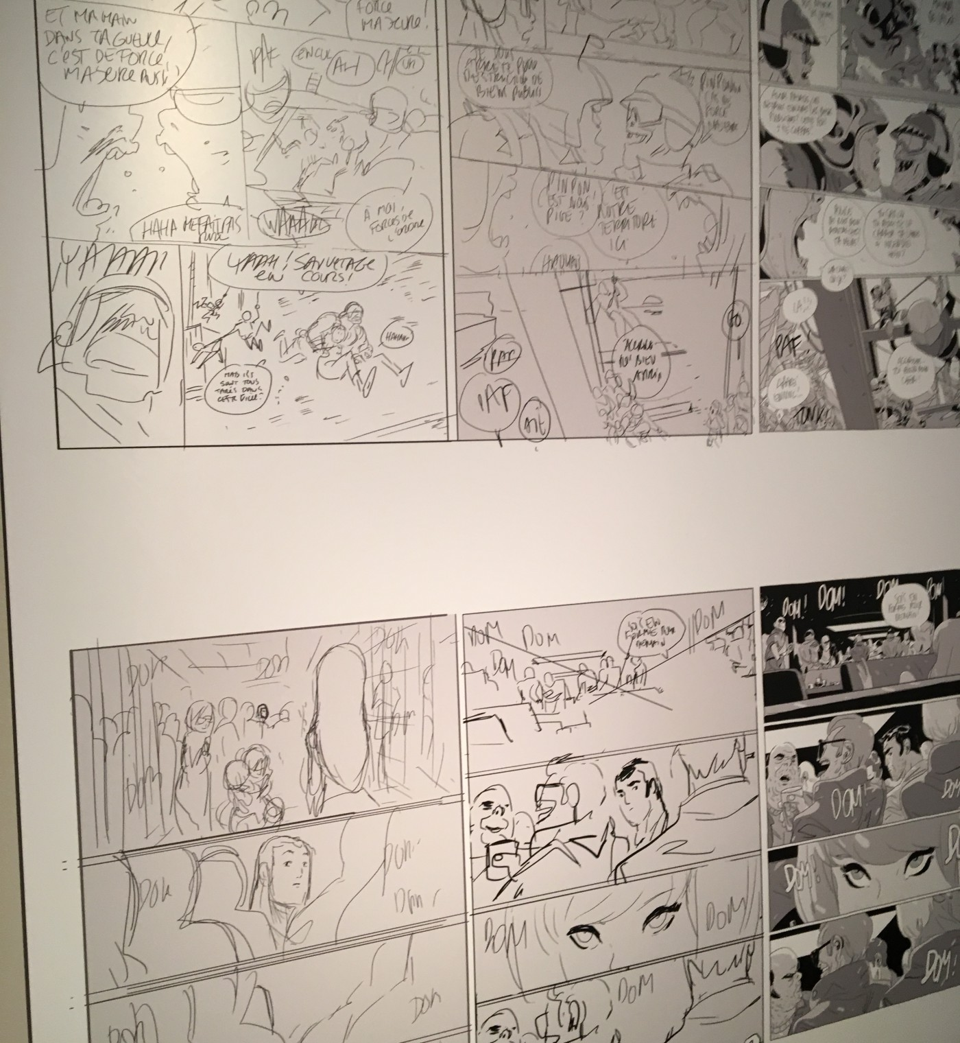 Expositon Lastman Universe – Angoulême 2016 – FIBD (12)