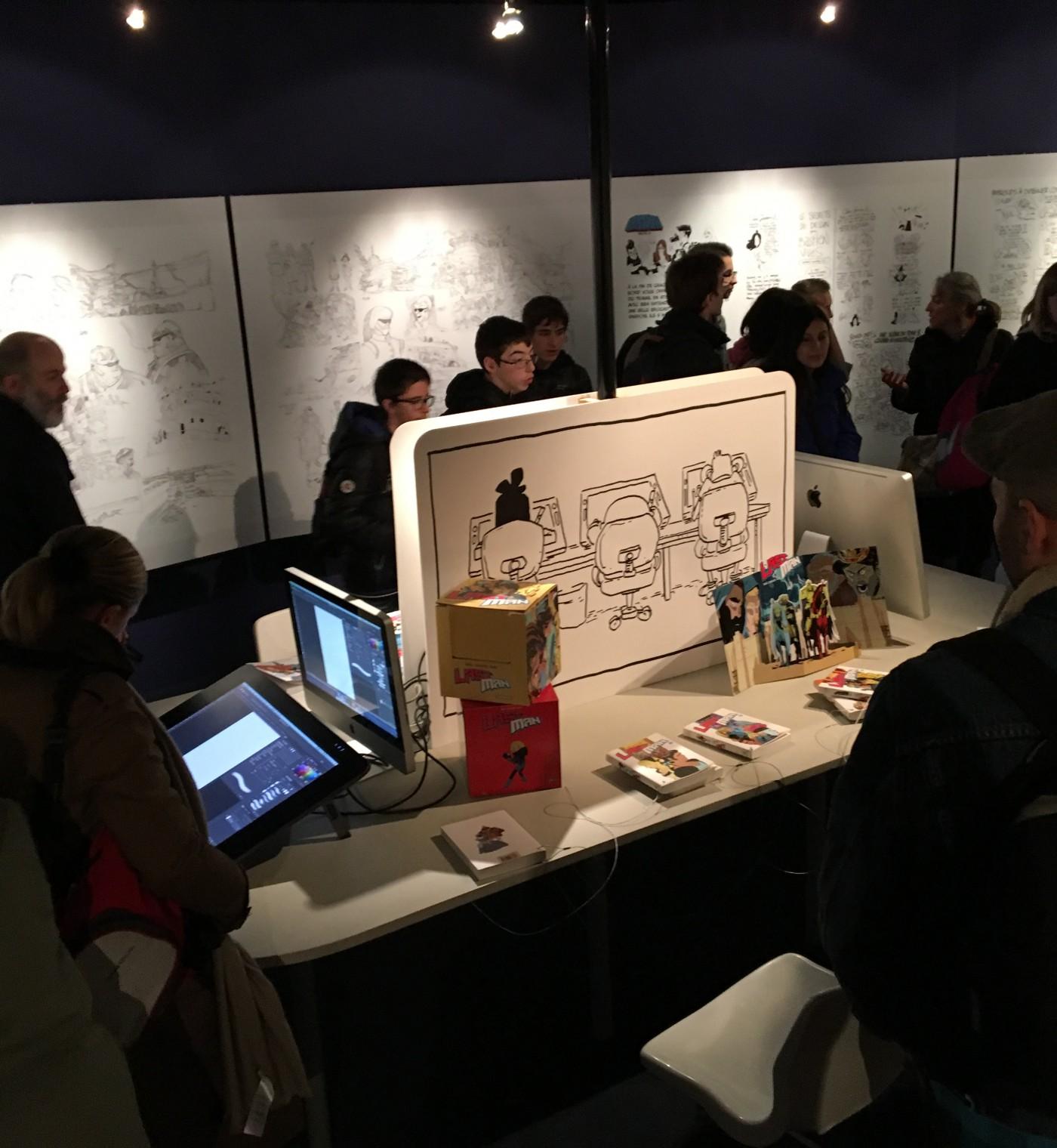 Expositon Lastman Universe – Angoulême 2016 – FIBD (7)