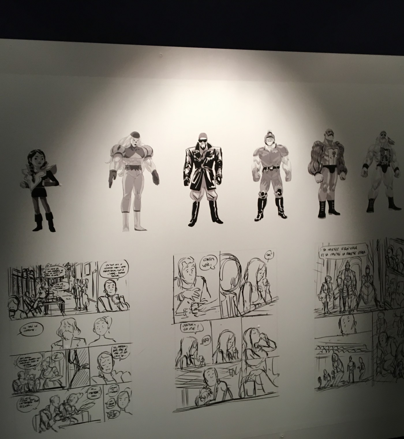 Expositon Lastman Universe – Angoulême 2016 – FIBD (8)