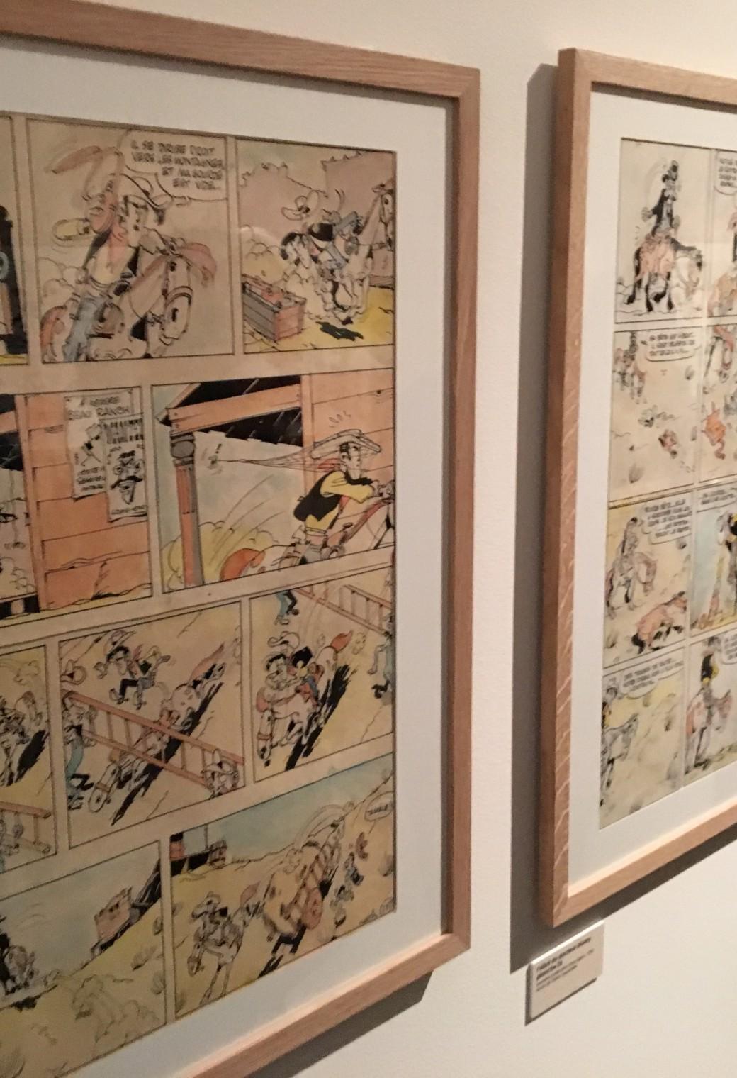 L'Art de Morris – Exposition BD – Mussée de la BD – Angoulême (14)