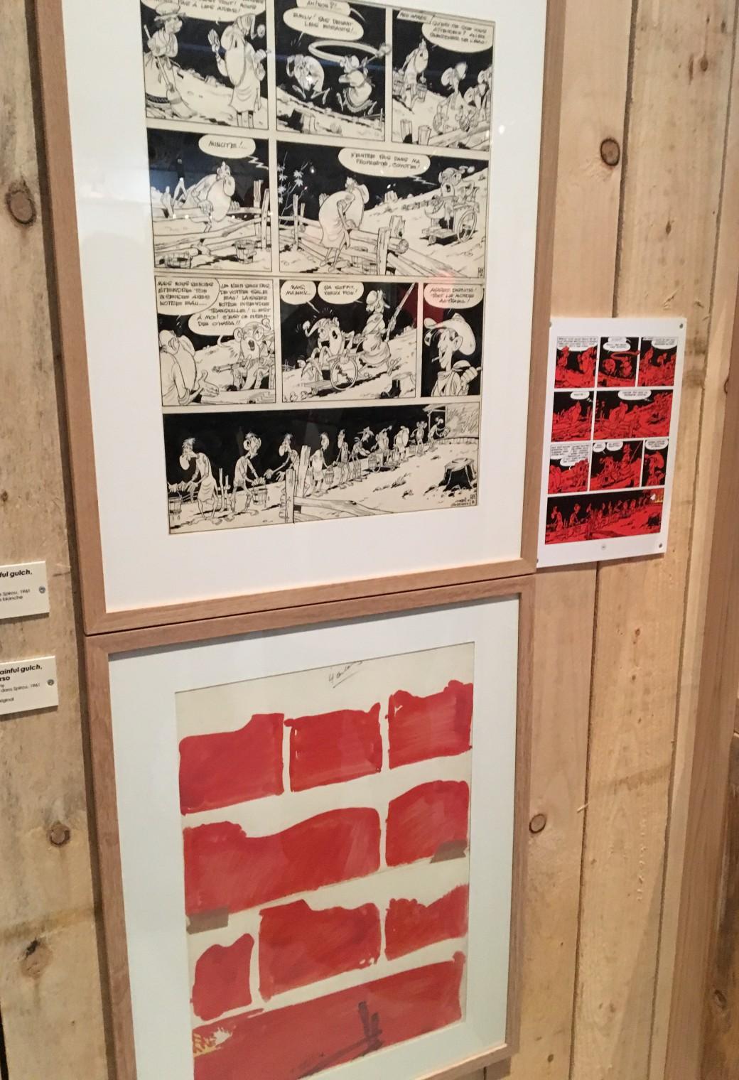 L'Art de Morris – Exposition BD – Mussée de la BD – Angoulême (39)