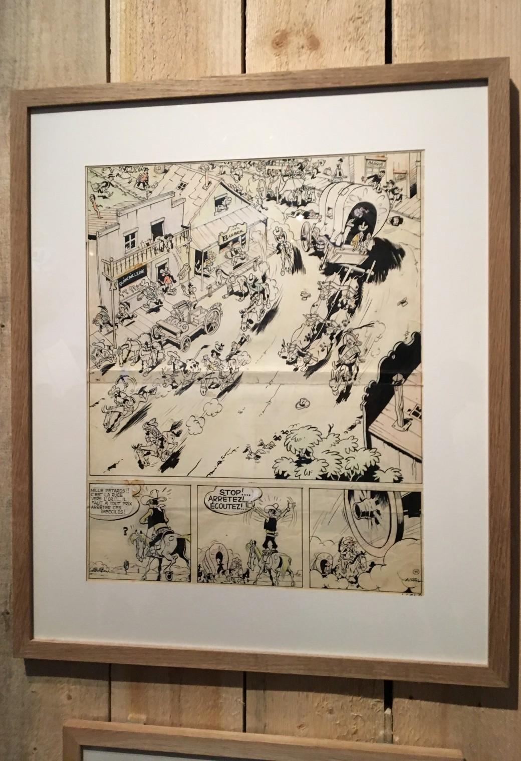 L'Art de Morris – Exposition BD – Mussée de la BD – Angoulême (48)