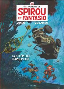 Spirou et Fanstasio #55, la colère du Marsupilami - Fabien Velhmann, Yoann, Dupuis
