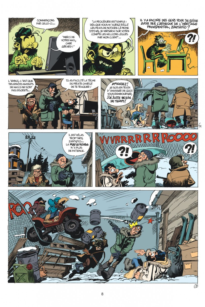 Spirou et Fanstasio #55, la colère du Marsupilami – Fabien Velhmann, Yoann, Dupuis