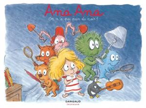 Ana Ana #7, On n'a pas peur du noir !, Dominique Roques, Alexis Dormal, Dargaud