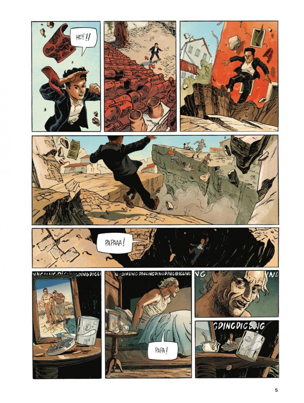 Leviathan #1, Après le fin du monde, Luc Brunchwig, Aurélien Ducoudray, Florent Bossard, Casterman