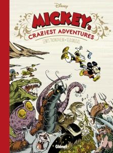 Mickey's craziest adventures, LEwis Trondheim, Nicolas Kéramidas, Glénat, Disney