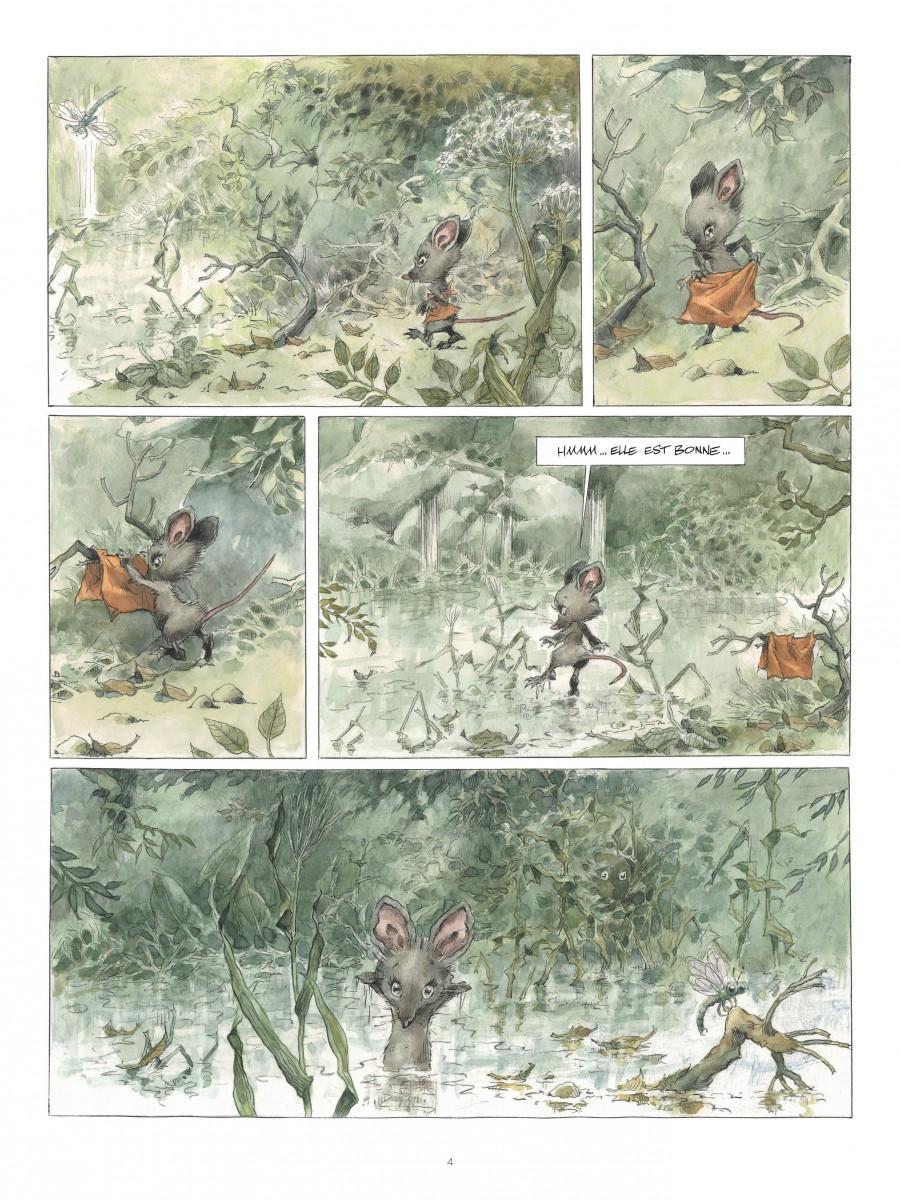Chlorophylle est le monstre des trois sources, René Hausman, Jean Luc Cornette, Le Lombard