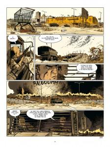 Soleil Froid #1, H5N4, Jean-Pierre Pécau, Damien, Delcourt