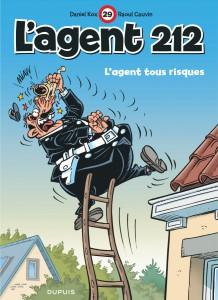 L'Agent 212, L'agent tous risques, Raoul Cauvon, Kox, Dupuis