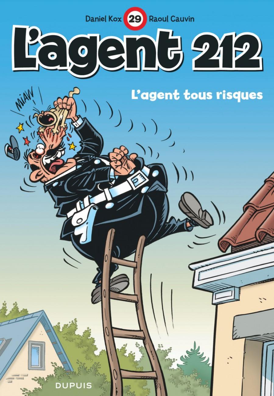 L'Agent 212, L'agent tous risques, Raoul Cauvin, Kox, Dupuis