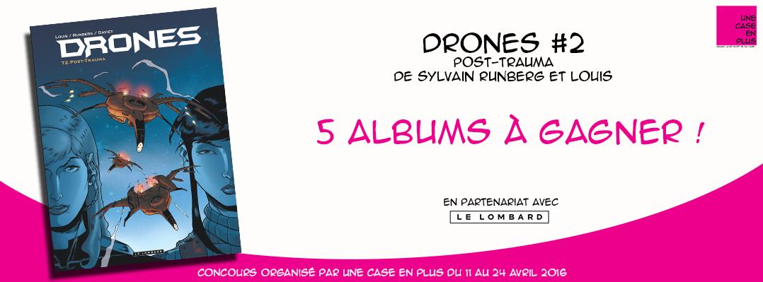 Drones #2, le concours, Sylvain Runberg, Louis, Le Lombard