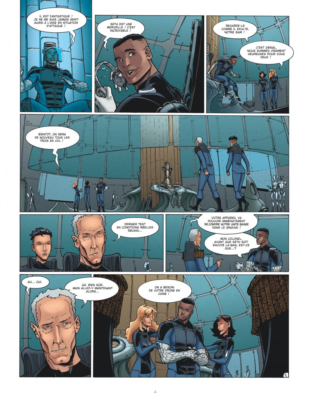 Drones #2, Post-Trauma, Sylvain Runberg, Louis, Le Lombard