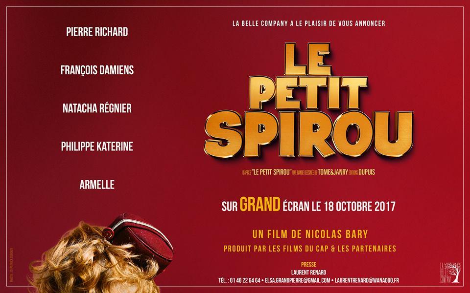 Le Petit Spirou, Dupuis, Janry, Tome, Nicolas Barry, Film, cinéma