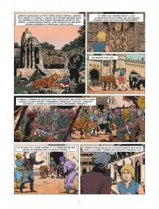 Corentin, les trois perles de Sa-Skya, le lombard, Jean van hamme, christophe Simon