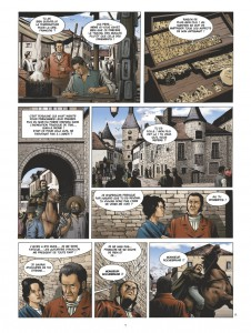 Les Maîtres Saintiers, Les sanglots de plomb 1815, Glénat, Laurent-Fédéric Bollée, Serge Fino