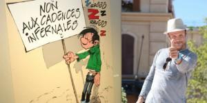 Gaston Lagaffe, Franquin, Cinéma, PEF