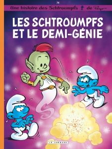 Les Schtroumpfs et le démi-génie, Les Schtroumpfs, Peyo, Thierry Culliford, Alain Jost, De Coninck, Miguel Diaz, Le Lombard