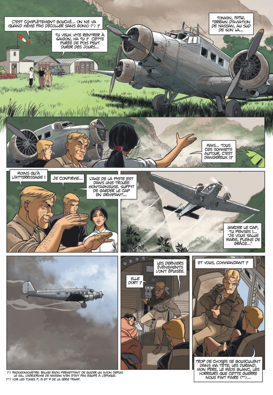 L'aviateur #1, L'envol, Jean-Charles Kraehn, Erik Arnoux, Chrys Millien, Dargaud