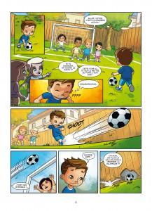 Euro 2016 - LA BD officielle, Soleil, UEFA, Benjamin Ferré, Dario Brizuela