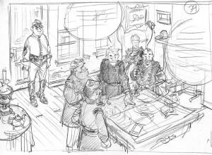 Les Tuniques Bleues, des histoire courtes, Dupuis, Chesterfield, Blutch