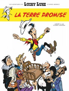 La Terre Promise, Lucky Luke, Jul, Achdé, Lucky Comics