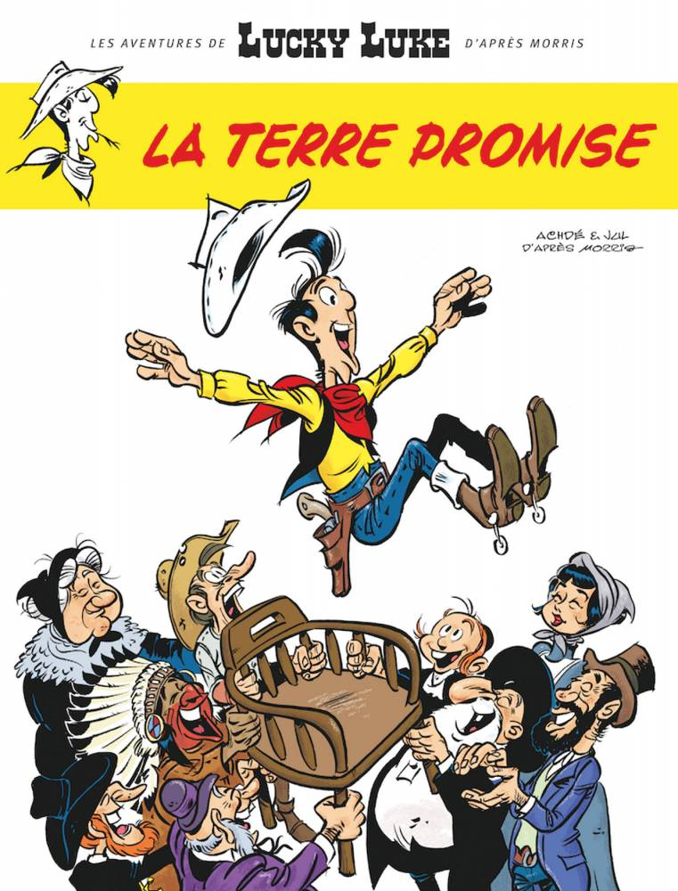 La Terre Promise, Lucky Luke, Jul, Achdé, Lucky Comics
