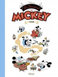 La Jeunesse de Mickey, Tebo, Glénat, Disney