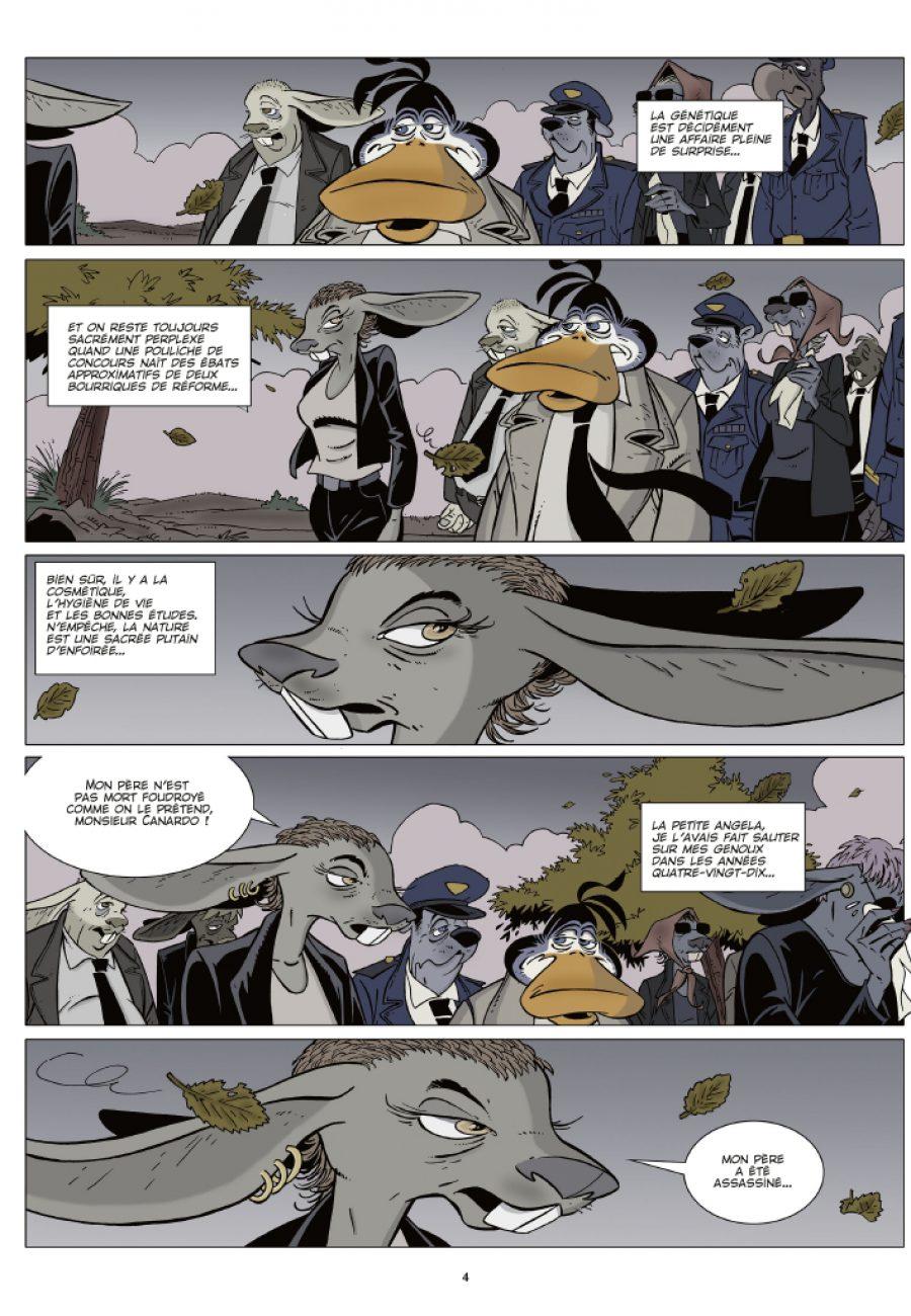 Canardo #24, La mort aux yeuw Verts, Casterman, Benoit Sokal