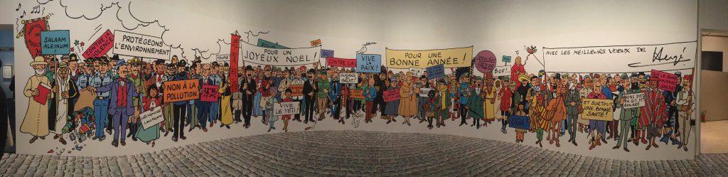 Exposition Hergé, Tintin, Casterman, Grand Palais