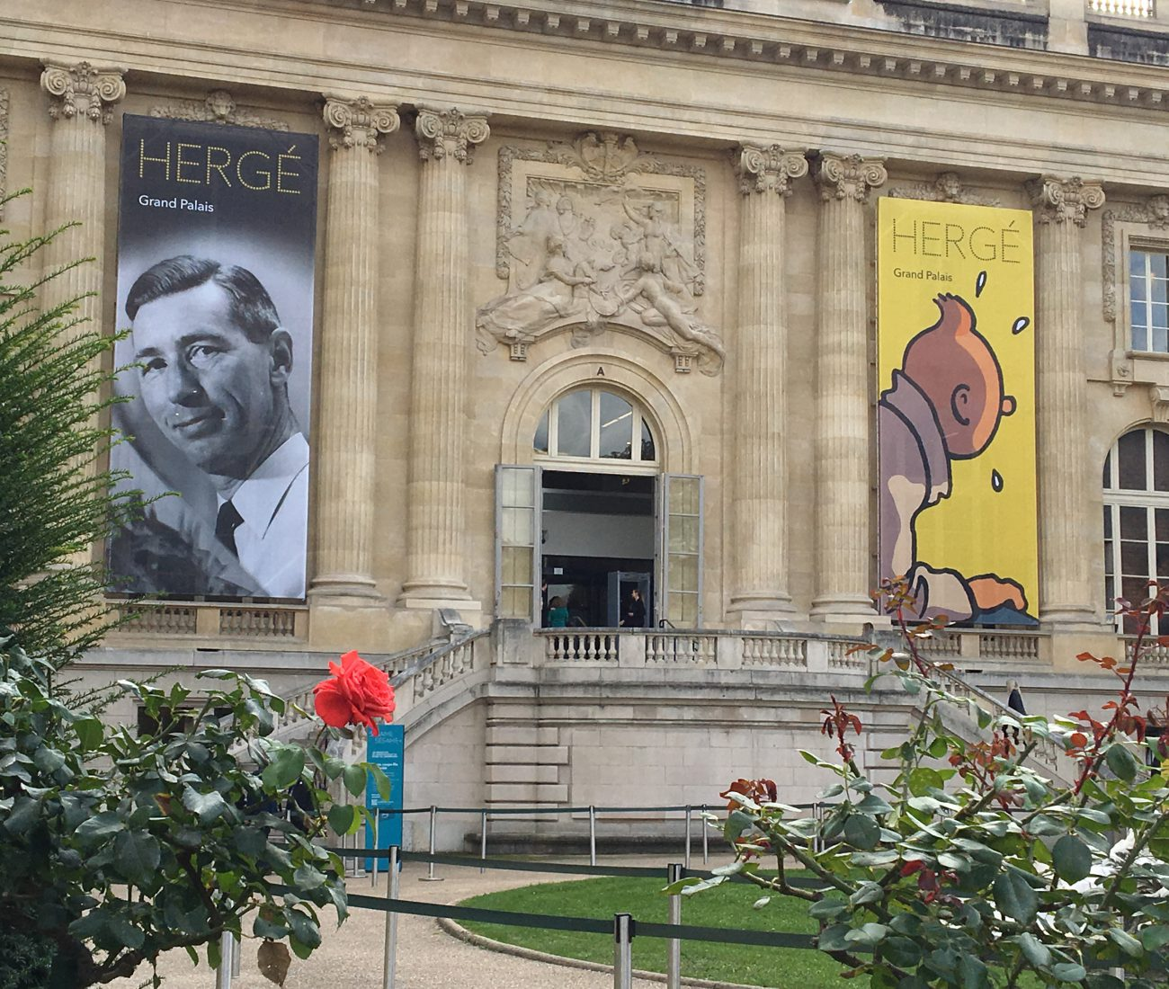 Exposition Hergé, Grand Palais, Tintin