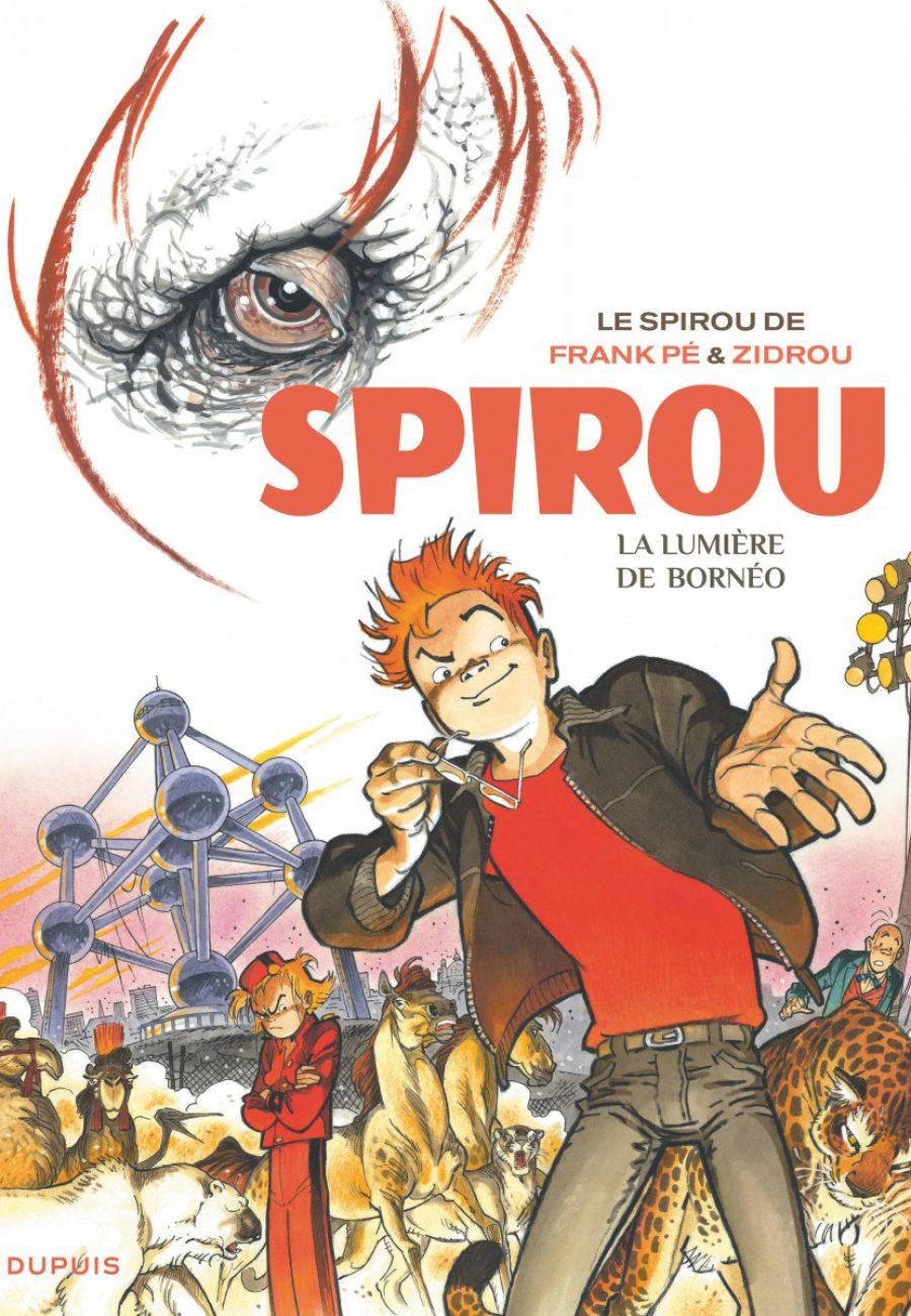 Le Spirou de Frank Pé et Zidrou, La lumière de Bornéo, Dupuis