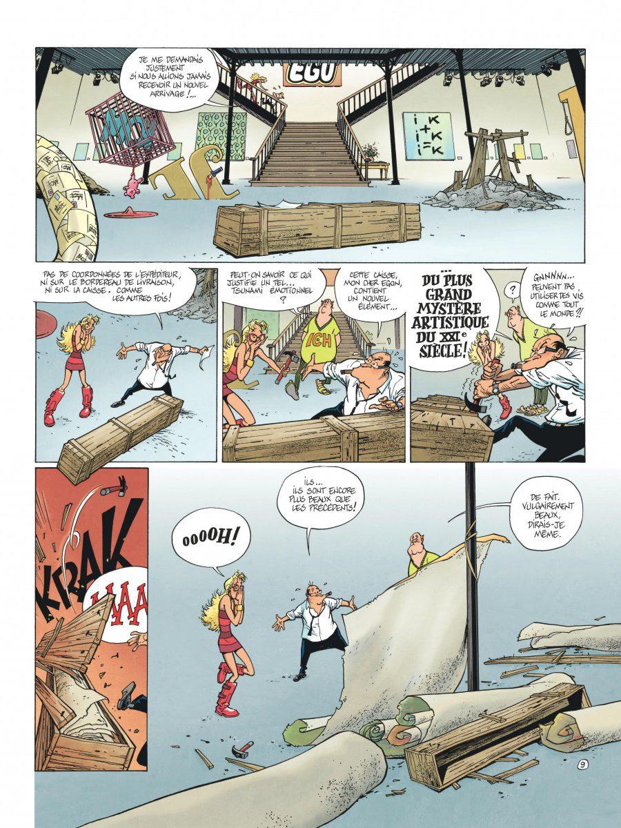 Le Spirou de Frank Pé et Zidrou, La lumière de Bornéo, Dupuis-page13-1200