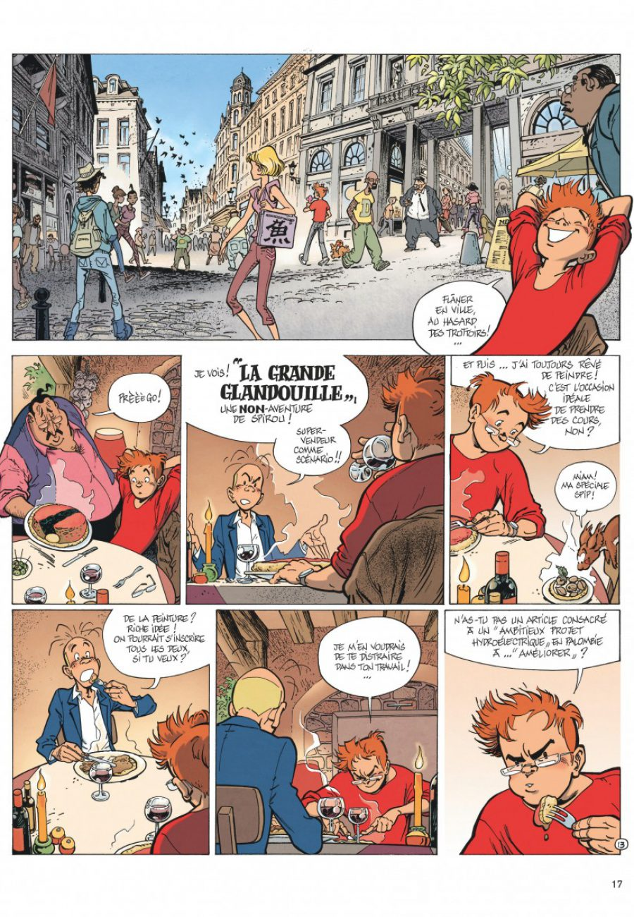 Le Spirou de Frank Pé et Zidrou, La lumière de Bornéo, Dupuis-page17-1200