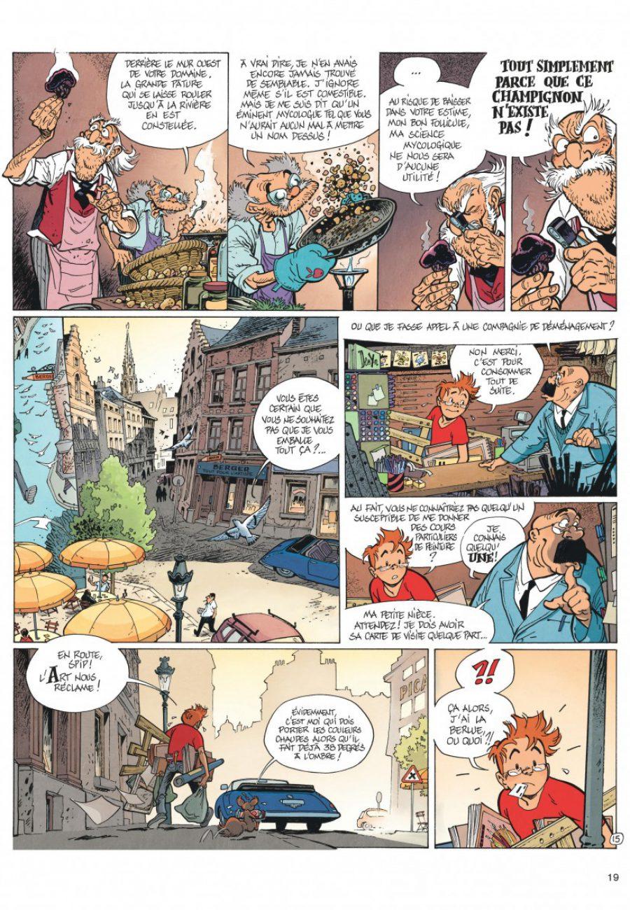 Le Spirou de Frank Pé et Zidrou, La lumière de Bornéo, Dupuis-page18-1200