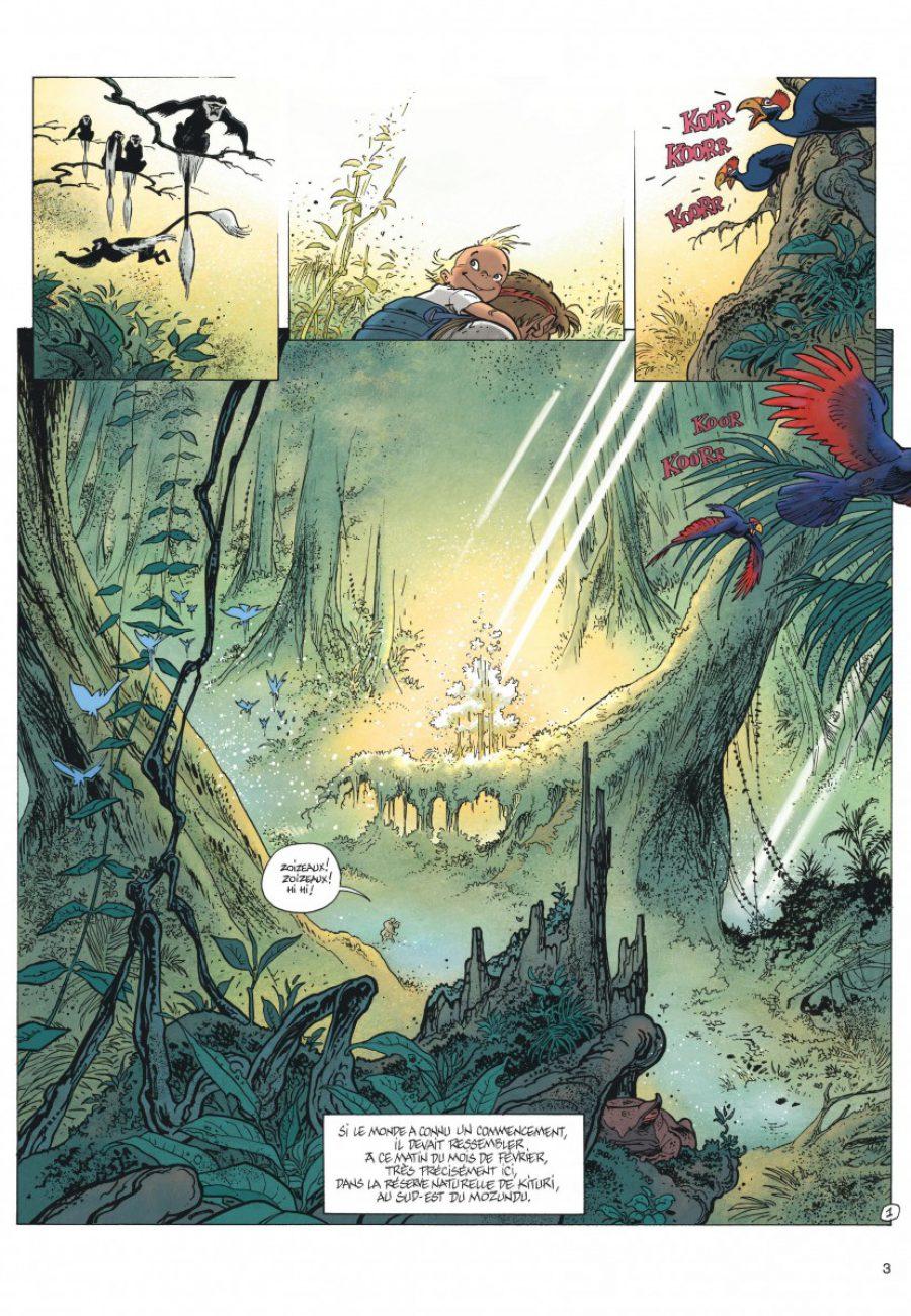 Le Spirou de Frank Pé et Zidrou, La lumière de Bornéo, Dupuis-page3-1200