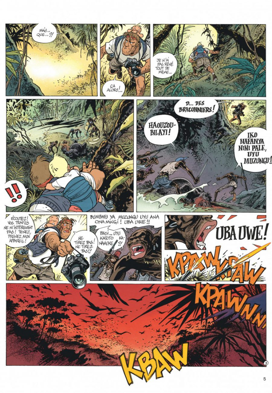 Le Spirou de Frank Pé et Zidrou, La lumière de Bornéo, Dupuis-page5-1200