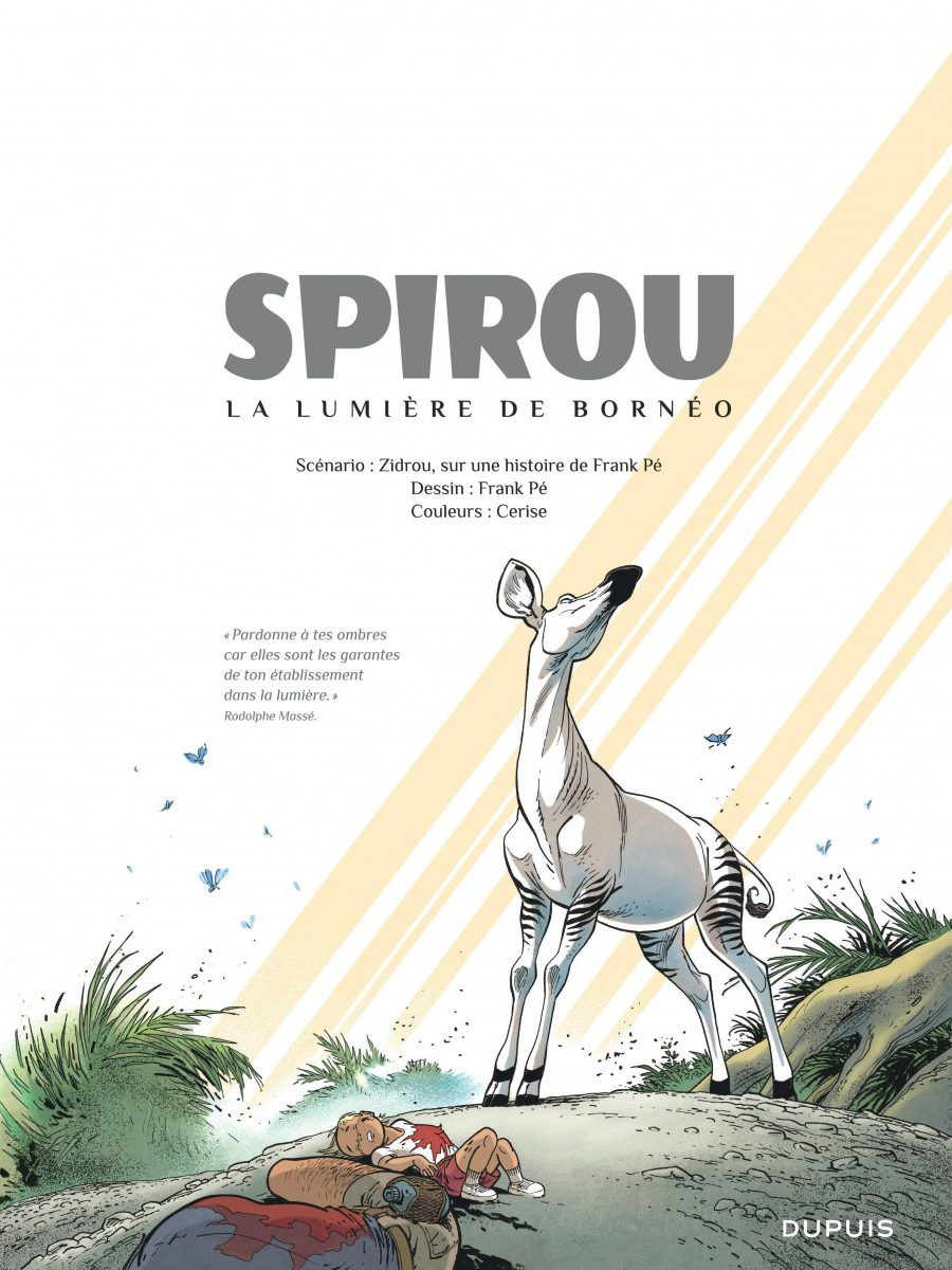 Le Spirou de Frank Pé et Zidrou, La lumière de Bornéo, Dupuis-page7-1200