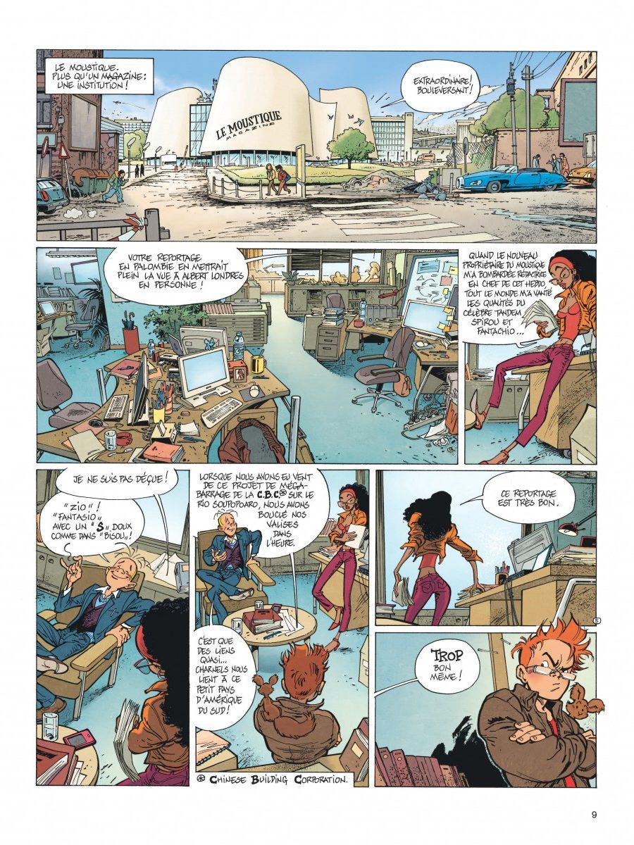 Le Spirou de Frank Pé et Zidrou, La lumière de Bornéo, Dupuis-page9-1200