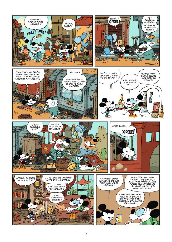 La jeunesse de Mickey, Tebo, Glénat