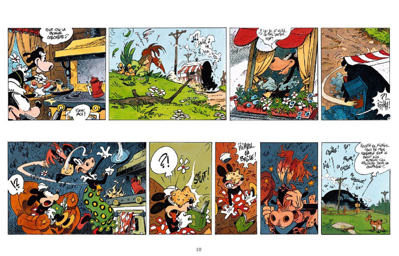 Preview, Café Zombo, Régis Loisel, Glénat, Disney by Glénat