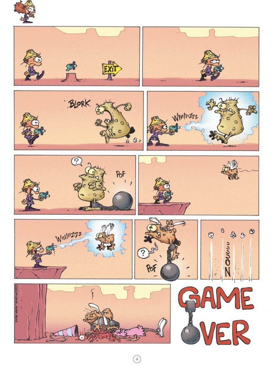 Game Over 14, Fattal Attraction, Glénat, Midam, Adam