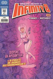 Infinity 8, Comics 3, Zep, Dominique Bertail, Lewis Trondheim, Rue de Sèvres