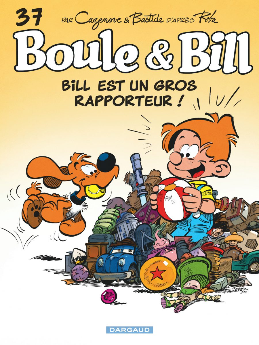 Boule et Bill #37, Bill est un gros rapporteur, Jean Bastide, Christophe Cazenove, Dargaud