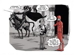 Sticky Pants #3, Crossover, Tony Emeriau, Xavier Henrion, Monsieur Pop Corn