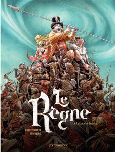 Preview, Le Règne, La saison des démons, Runberg, Boiscommun, Le lombard