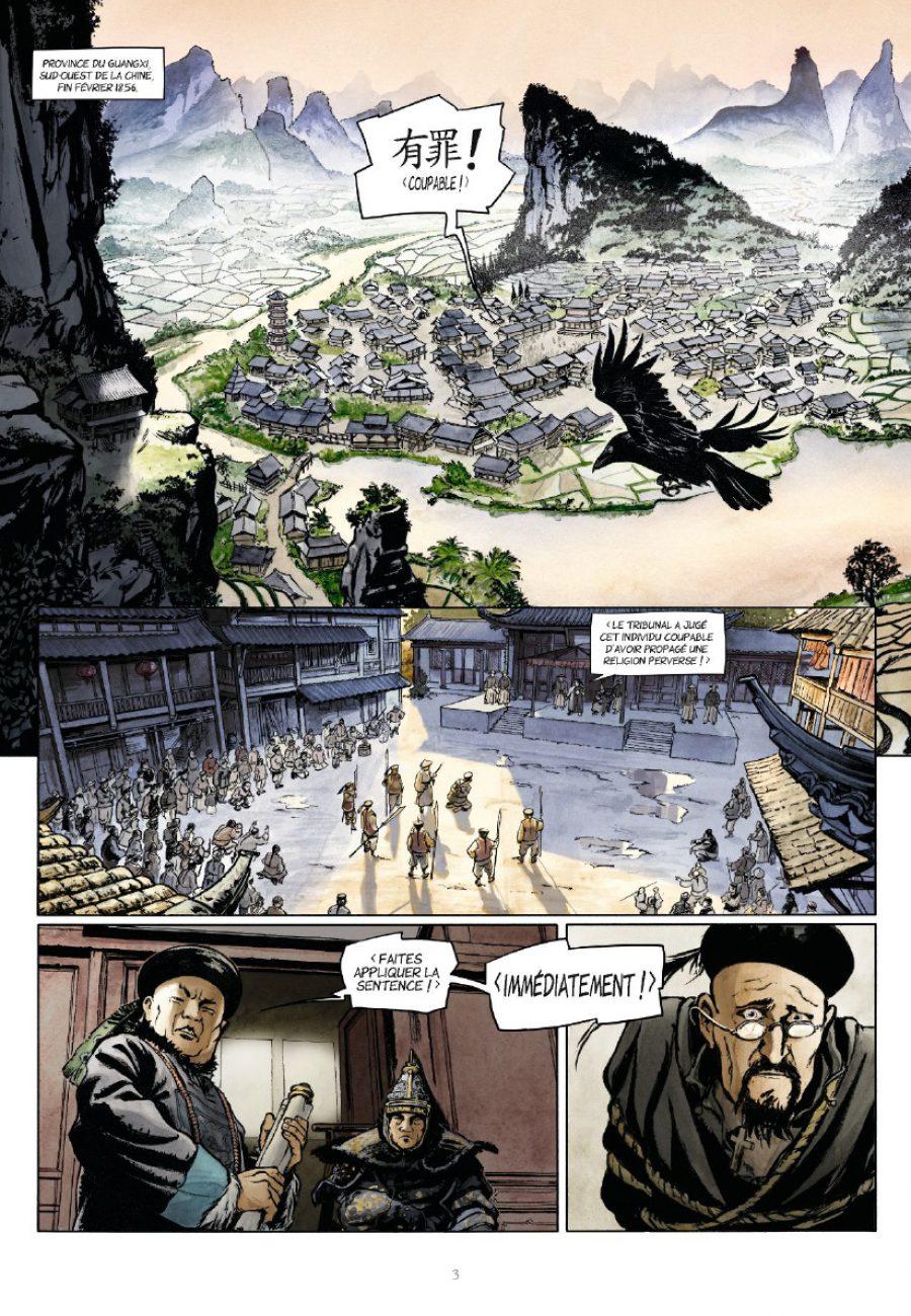 Laowai #1, la guerre de l'opium, Bollée, Alicante, Besse, Glénat